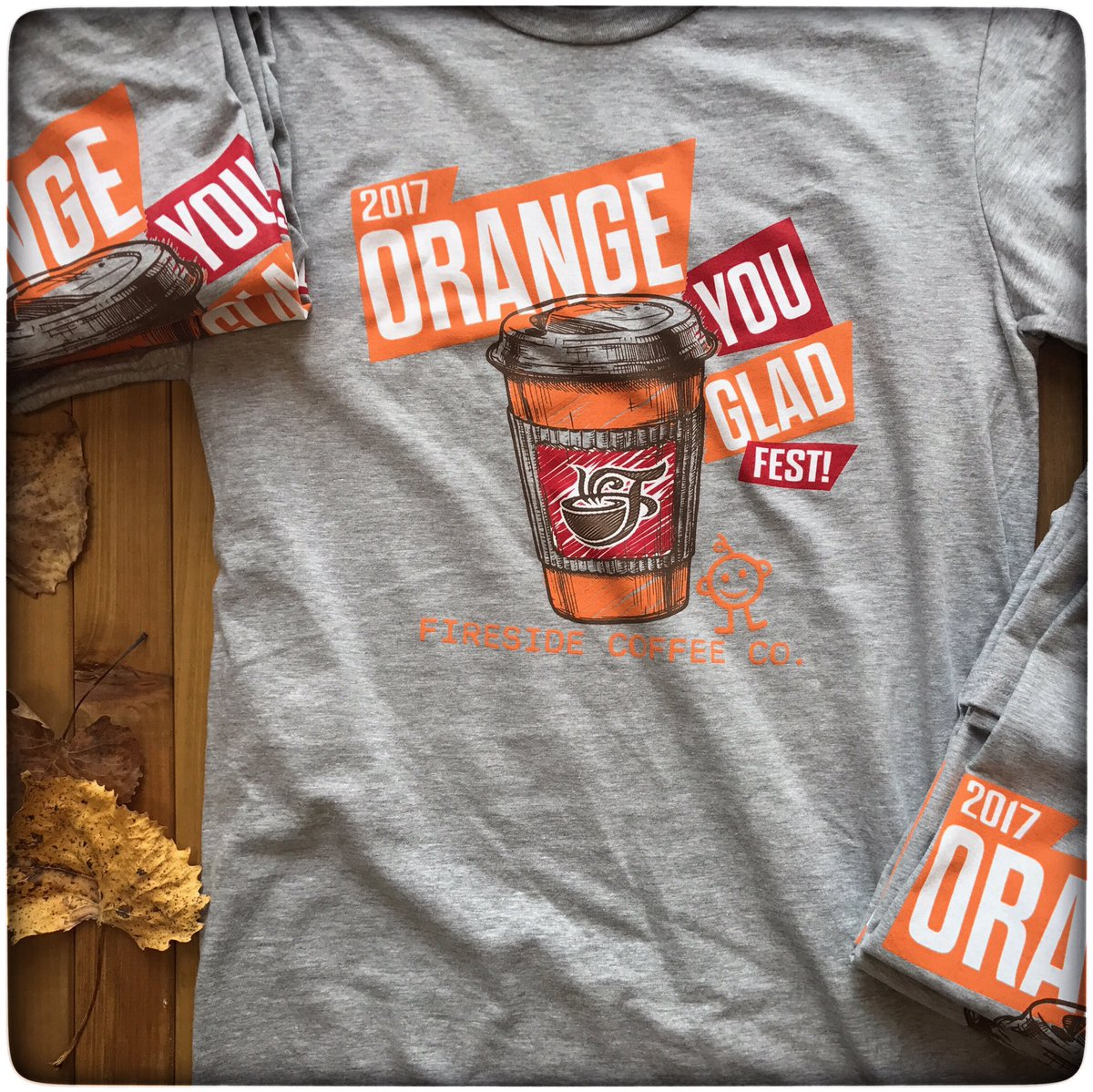 Shirt Traveler On Twitter Firesidecoffeeco Orange You Glad Fest