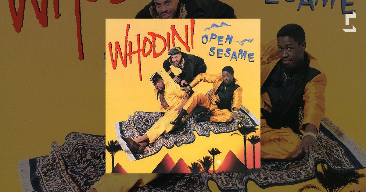 Whodini's fourth album 'Open Sesame' did...