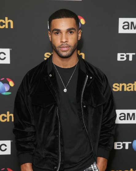 Here's @ItsLucien at the UK premiere at the BT Tower for #SnatchTV - coming to AMC UK on 31st October.