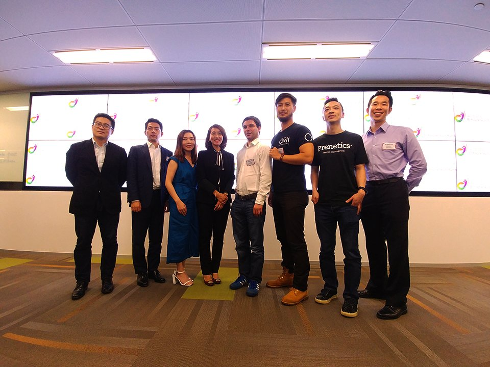 At the Alibaba media demo day yesterday. Honoured to have 爸爸 as one of our investors and meet with other entrepreneurs. https://t.co/BUz9UmwkTo