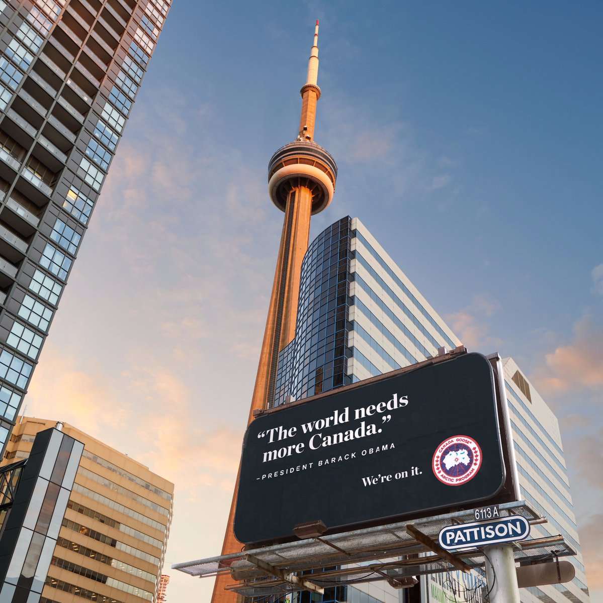 Welcome to Toronto, @BarackObama