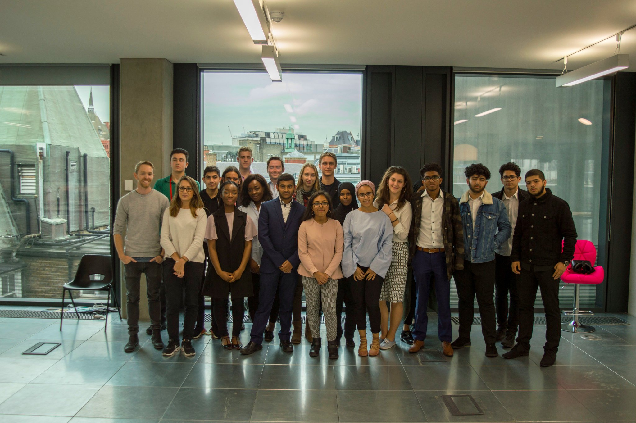A huge well done to everyone who came to the office today for #adunlocked, the future is in good hands 🙌 https://t.co/61wW0o7zV5