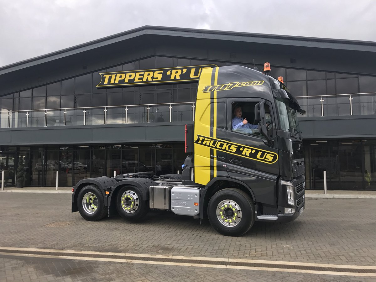 Another new volvo fh 540 unit bulk tipping trailer for the tipperteam http tru7 com pic twitter com pz830asqjj