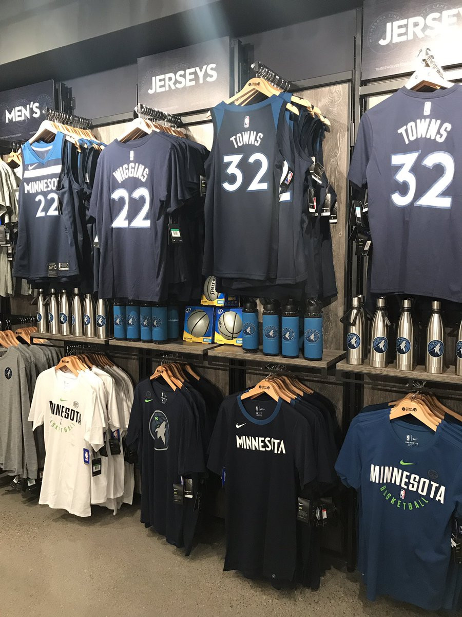 size 40 395e1 aec63 Timberwolves Team Store on Twitter: