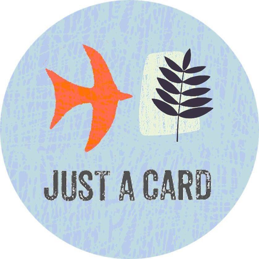 It really does make a difference if you buy a small gift or just a card.  Support small businesses and makers/artists. #justacard