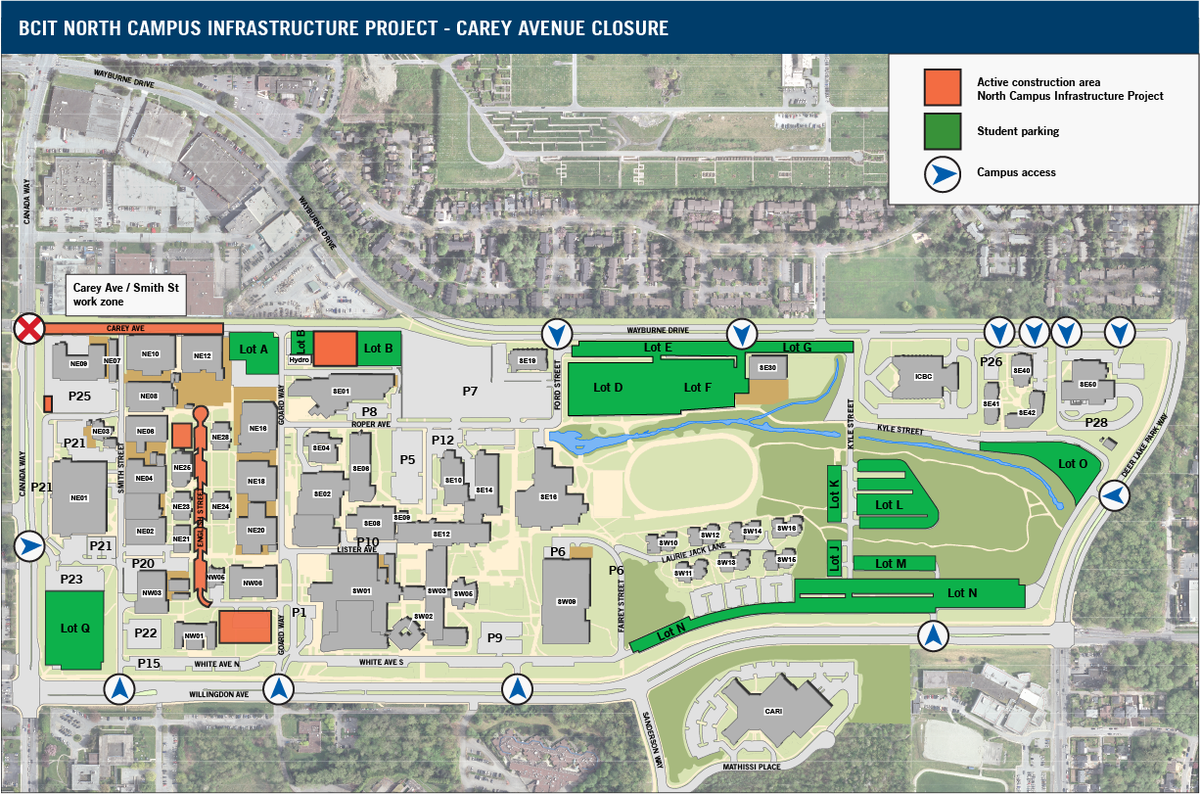 Bcit Burnaby Campus Map BCIT on Twitter: