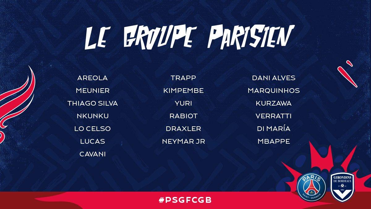 Un but pour Meunier, le PSG écrase Bordeaux