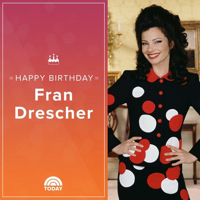 Happy 60th birthday, Fran Drescher!