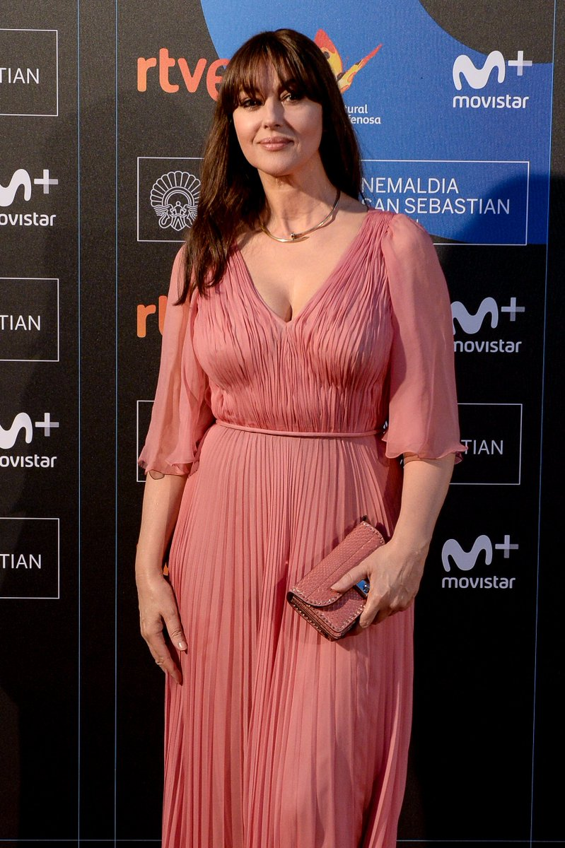 Monica Bellucci Film Festival Monica Bellucci Dons Rose