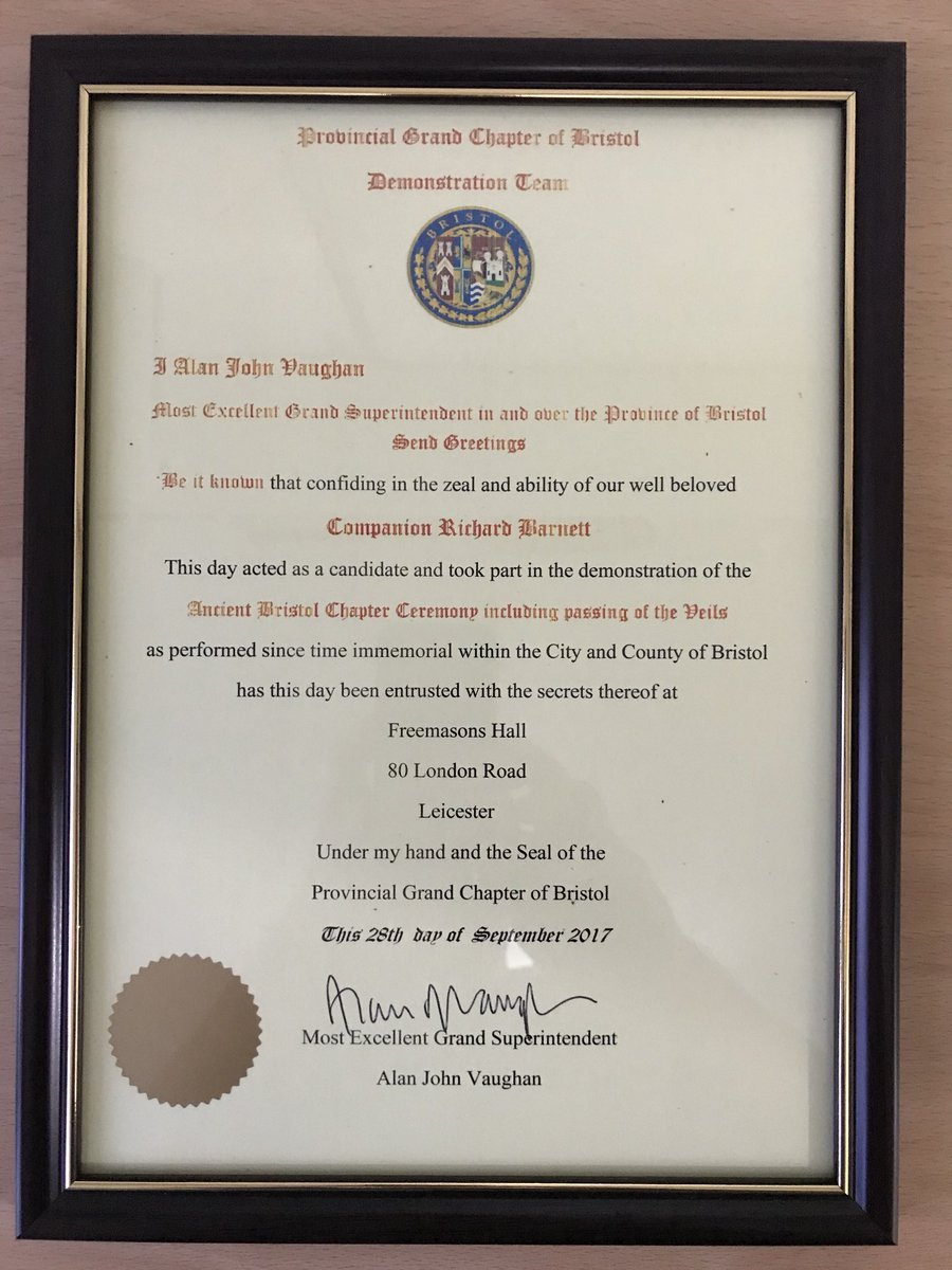 Richardb On Twitter Really Proud To Receive This Certificate From