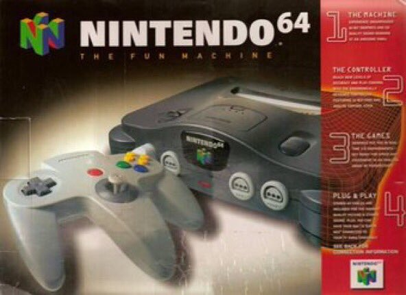Onthisdayingaming On Twitter The Nintendo 64 Was Released On This Day In North America 21 Years Ago 1996
