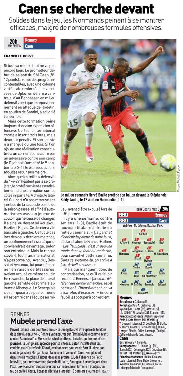 [8e journée de L1] Stade Rennais 0-1 SM Caen DK7KryyWAAAj3z7