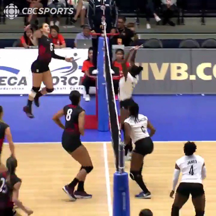 These ladies can hit! 🏐 Watch Canada take on Nicaragua TONIGHT at 11pm ET: https://t.co/iLkvyKZdwN