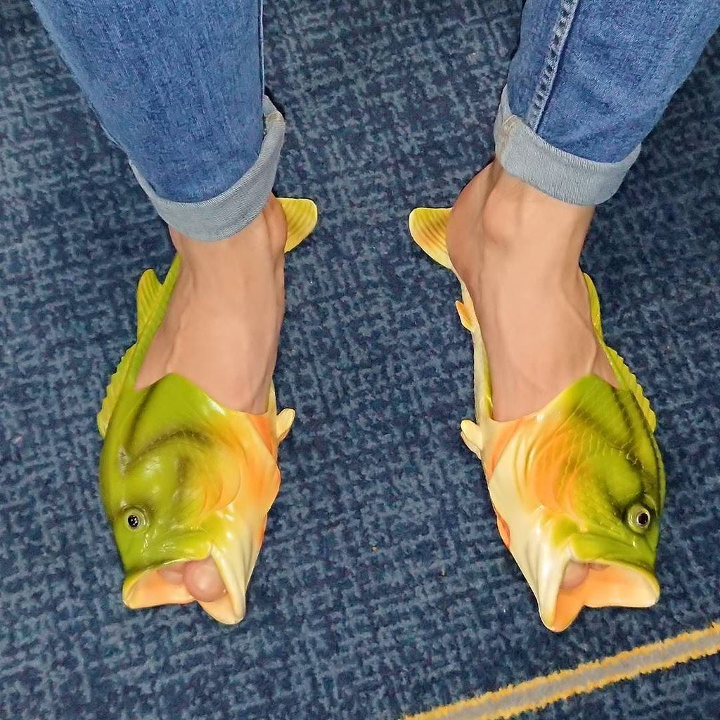fuck? Fish flops? Worst shoes