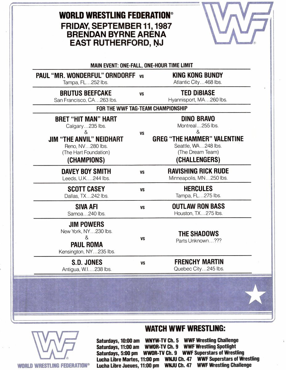 fbf who s the most underrated wwe star from meadowlands 30 years ago this month mdmteddibiase brutusbeefcake_ realkkbundy brethartpic twitter com
