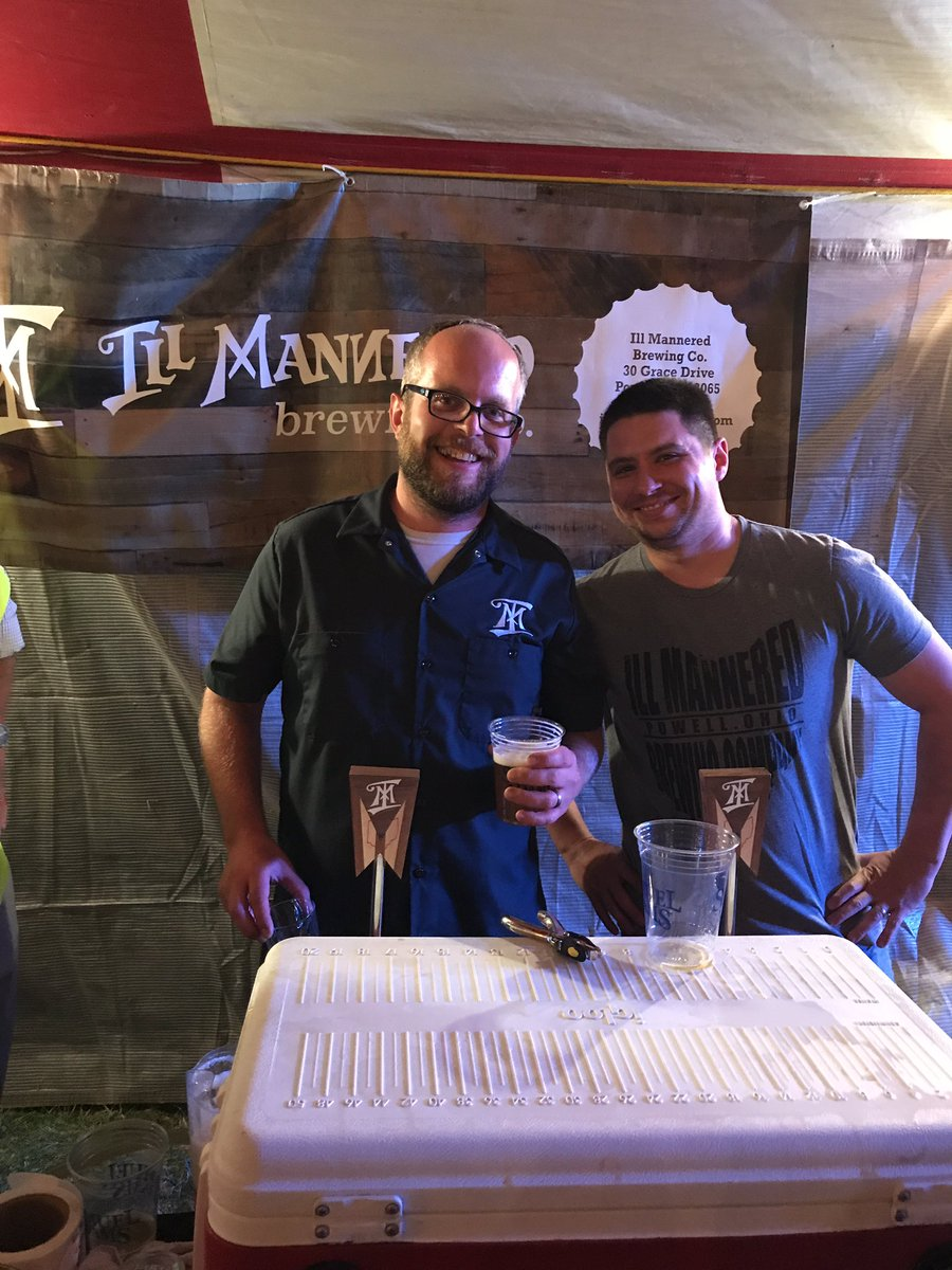 Olentangy Rotary On Twitter At Illmanneredbeer Doing Tastings At