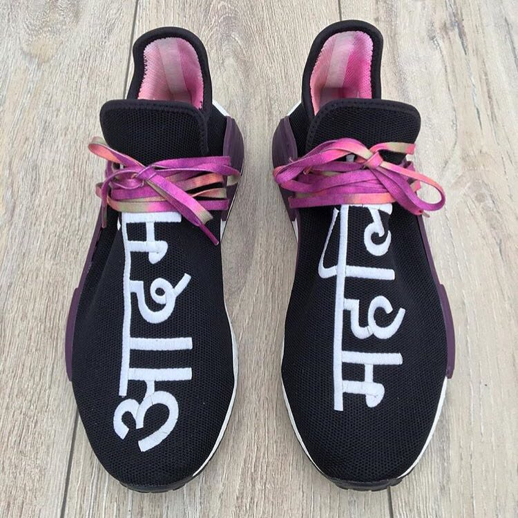 Fake vs Real Adidas Human Race NMD FAKE BLACK