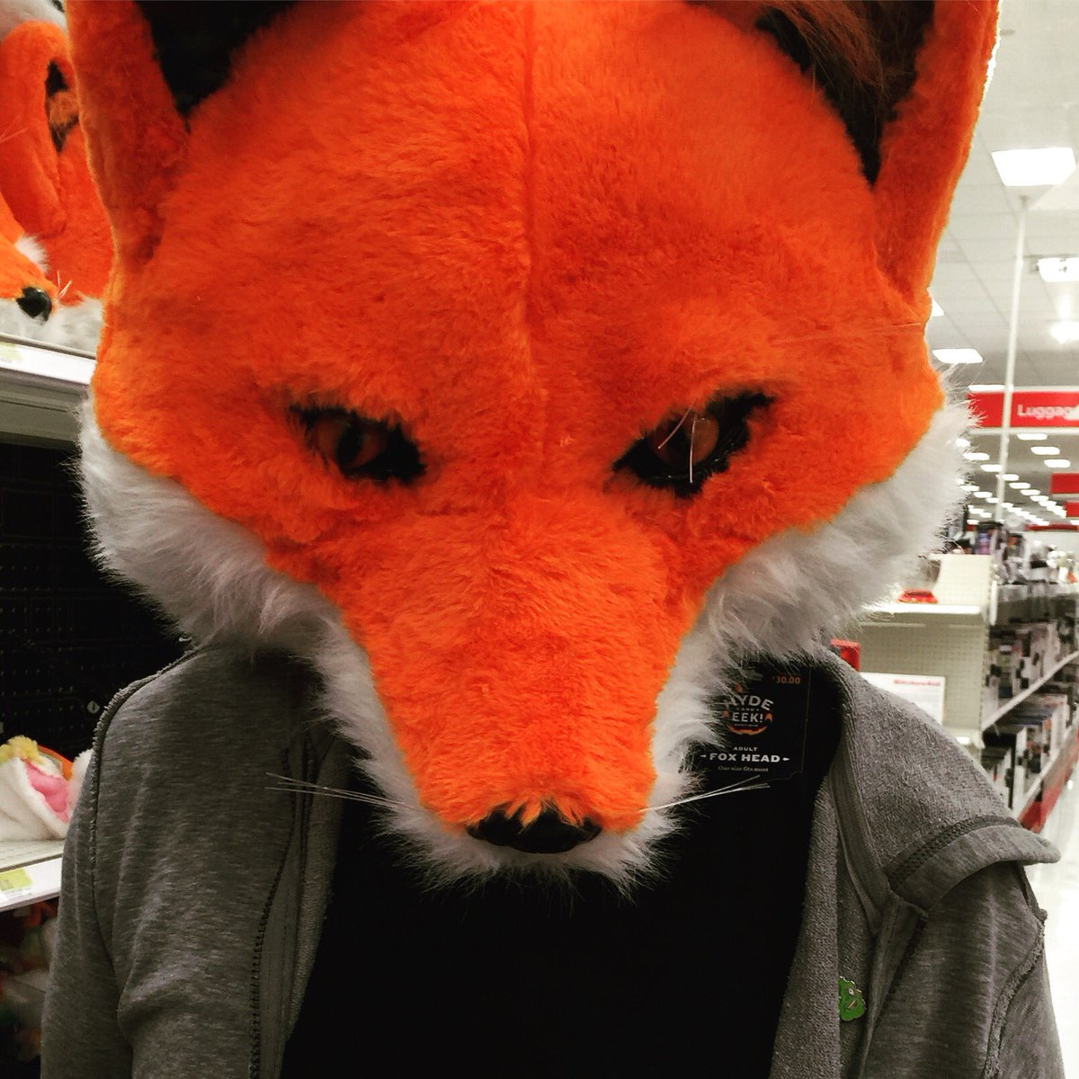 dinosaur dracula on twitter these giant fox masks are all over