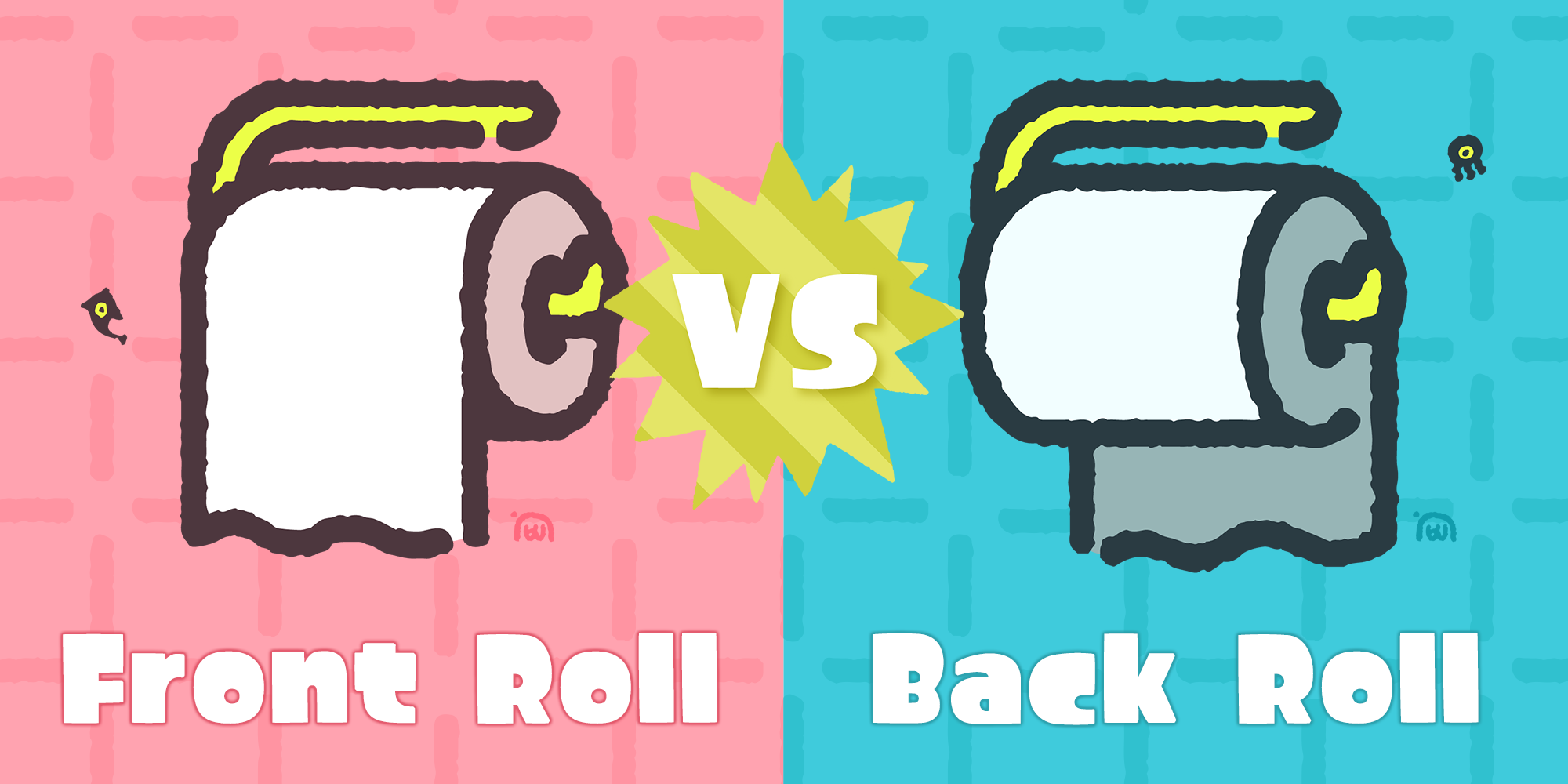 Front Roll vs. Back Roll