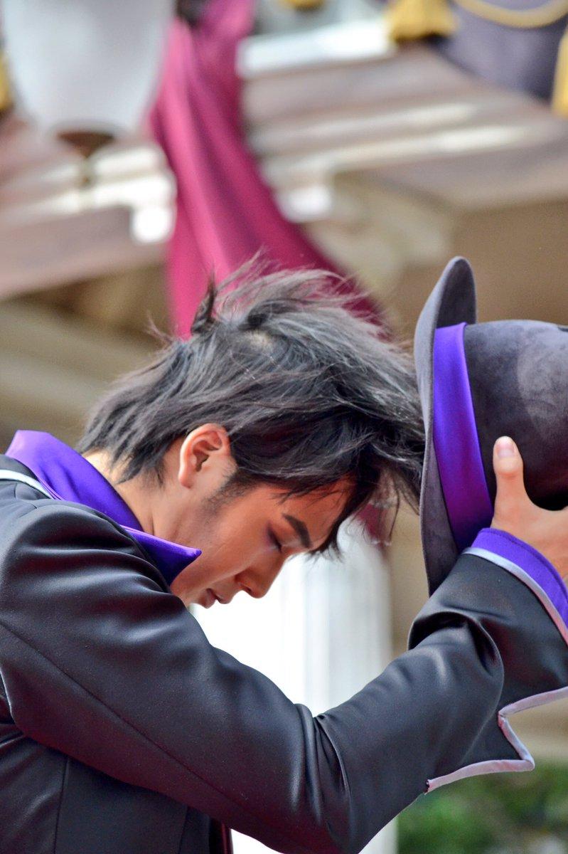 帽子を取るフィ😈😈😈 そして被るフィ😈😈😈  #手下 #ヴィランズ #マルフィ #9/30 #😈