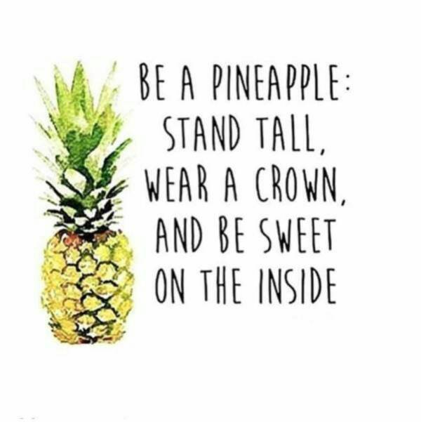 Be a pineapple. #cutequotes #funnyquotes #selfrespect  http:// goo.gl/NGdqGL  &nbsp;  <br>http://pic.twitter.com/4s1mut9YtG