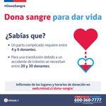 #DonaSangre Twitter Photo