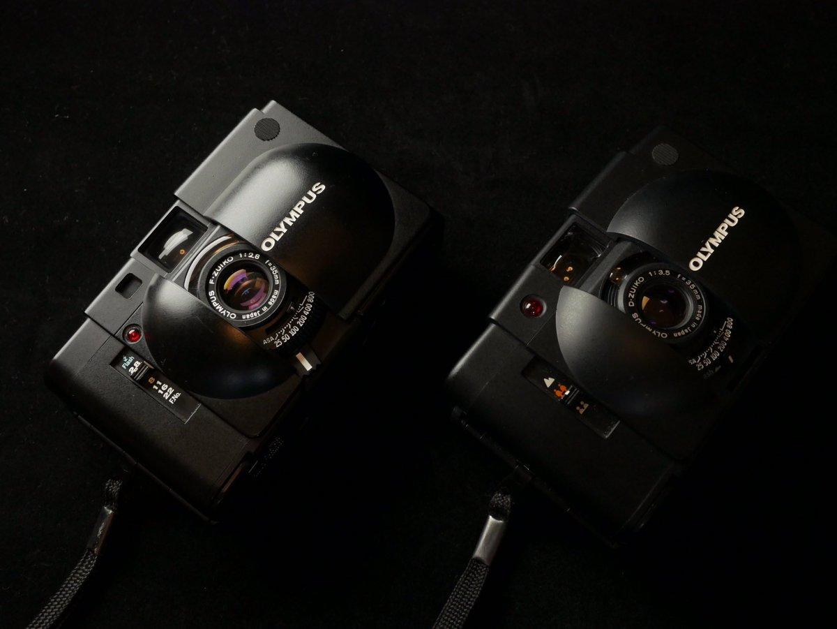 カプセルカメラ #OLYMPUS #XA #XA2 #μ