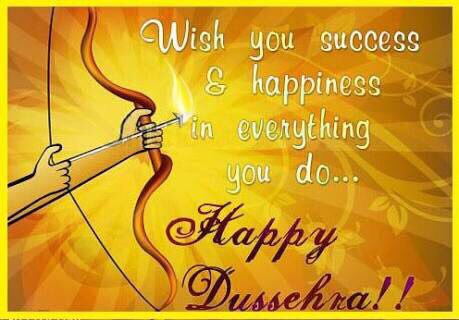 May all your problems burn along with the effigy of Ravana and may you get success in everything you do. #HappyDussehra https://t.co/QJT6Z60kFu
