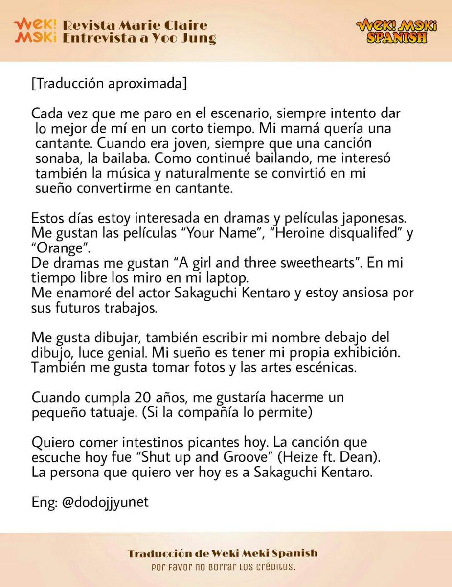 Weki Meki Spanish on Twitter dodojjyunet httpstcoiS9zsE3ktk