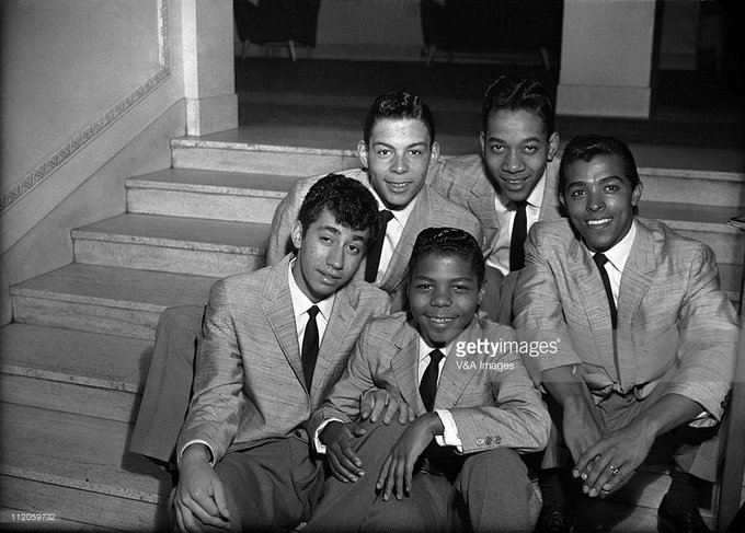 Happy Birthday to Frankie Lymon(middle), who would have turned 75 today!