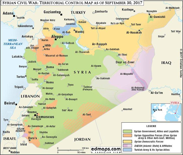 3 года мы в Сирии