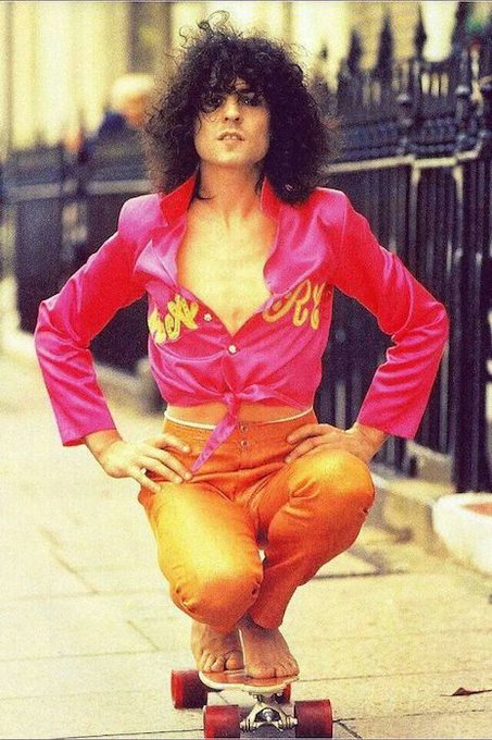The first time I heard his voice, everything in my world changed permanently. Happy Bday Marc Bolan