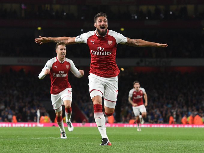 Happy birthday to Arsenal striker Olivier Giroud, who turns 31 today!