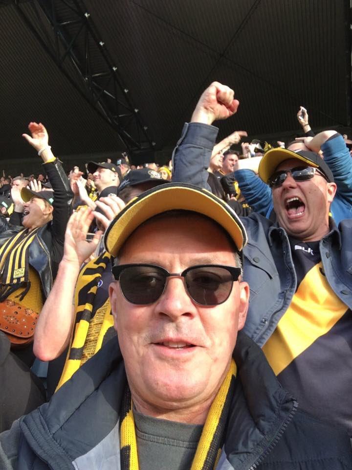 @DEFGLIS member Andy celebrating  at the...