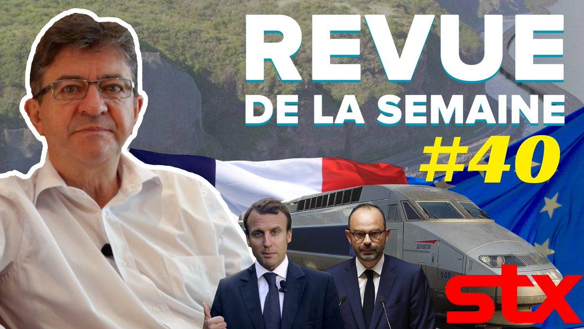 La #RDLS40 est en ligne. Les thèmes : La Réunion, #STX, #Alstom, Macron et l'Europe, débat avec Philippe.  ➡️https://t.co/ZEOed2cWXQ