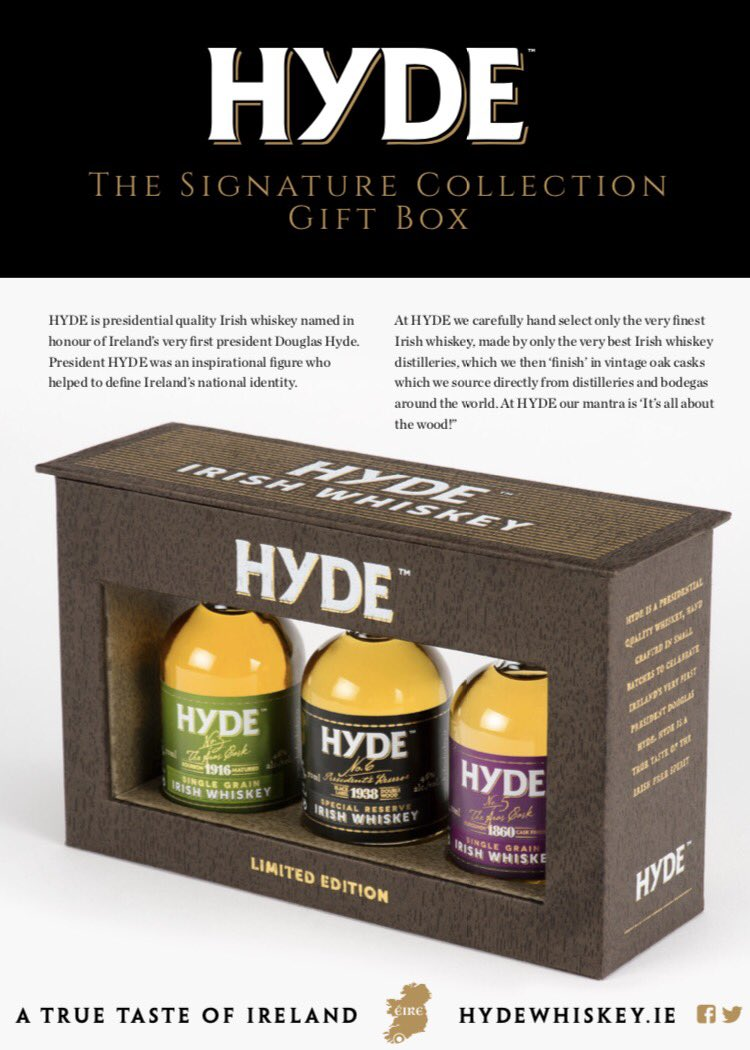 Hyde Whiskey On Twitter Launching Our Signature Collection Hyde