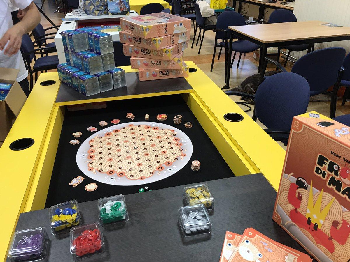 Vidi Antipasti Board Game Black Box Adventures Frutti di Mare Veni