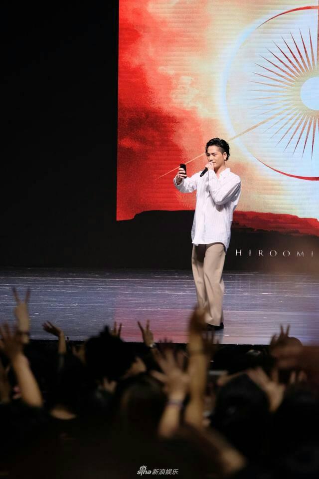 【JSB】登坂広臣の上海ファンミーティングの現地記事です。  登坂广臣举办上海粉丝见面会 分享出道心路历程