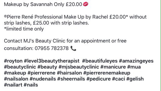 Makeup By Savannah Only 2000 Royton Eyeliner Gloss Salon Plouisetrained Eyebrows Pierreren Offer Beautifuleyespictwitter 1qwaRdaSca