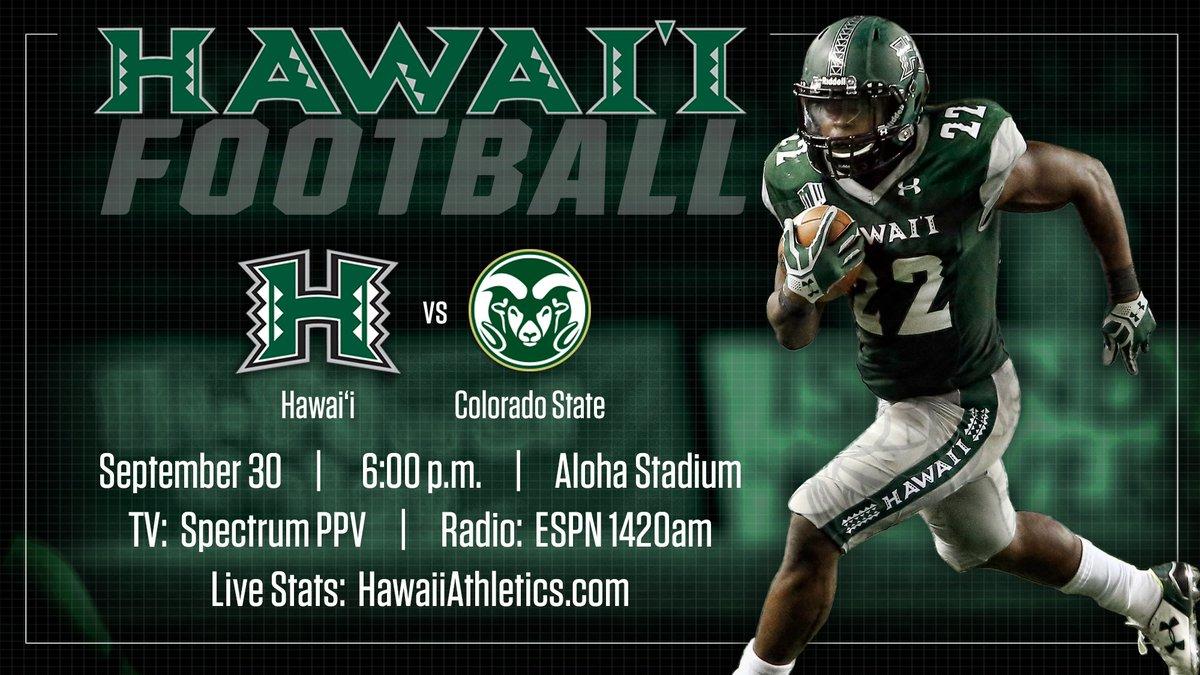 Hawaii Football on Twitter: