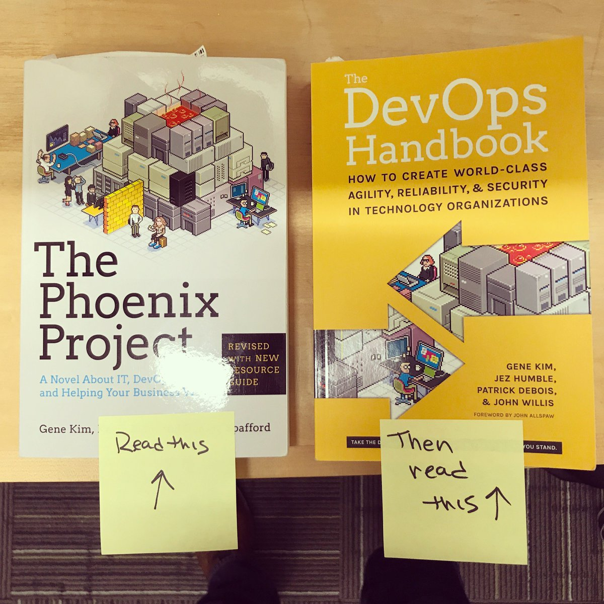 New hire onboarding procedures.  #devops https://t.co/gaw6MVjTQi