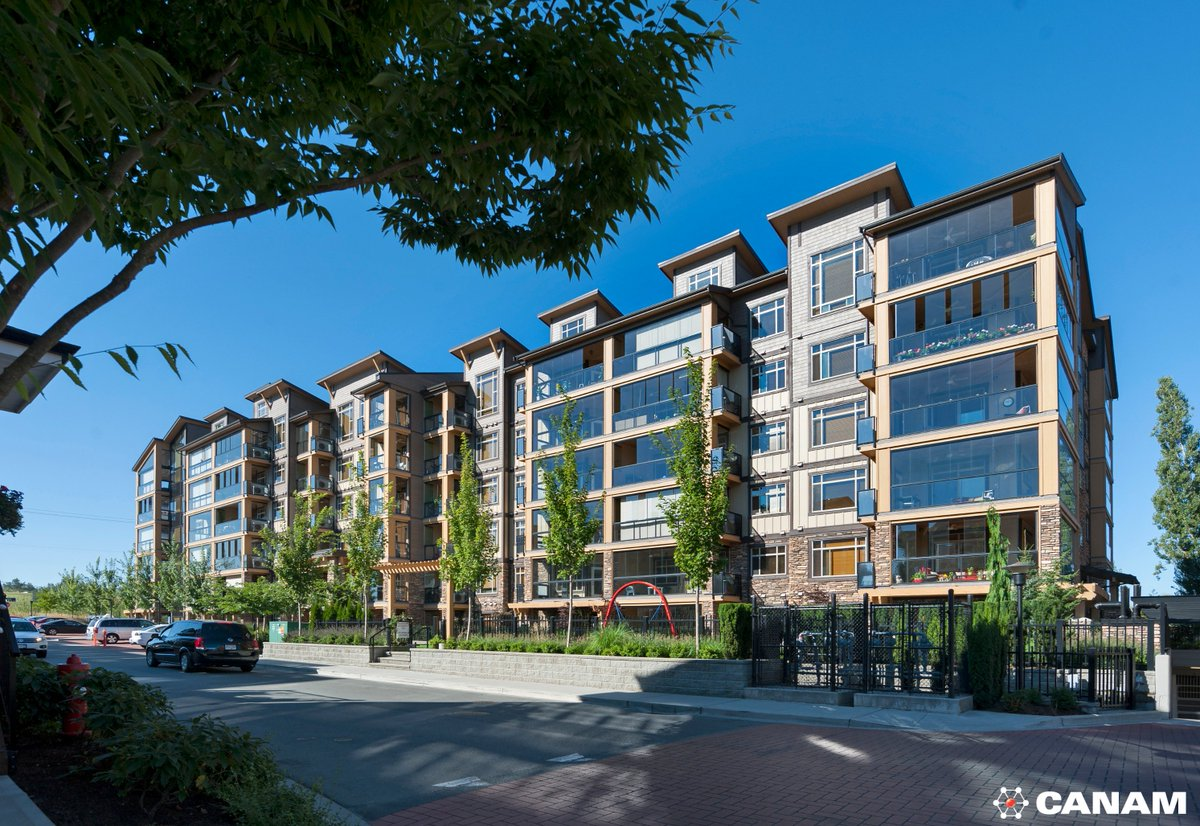 Yorkson Creek, Langley in BC, used our Hambro composite floor system on wood framing.  http:// bit.ly/HambroEng  &nbsp;   #Canam #Steel<br>http://pic.twitter.com/6BiYDrJ2Kh