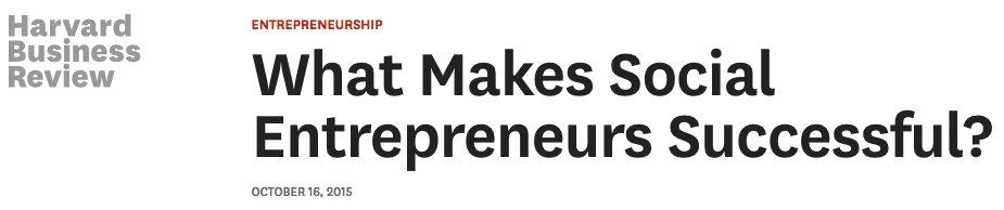 &quot;Social Entrepreneurship:What Makes Social Entrepreneurs Successful?&quot;  @HarvardBiz  https:// hbr.org/ideacast/2015/ 10/what-makes-social-entrepreneurs-successful &nbsp; …  #socialentrepreneurship #startups<br>http://pic.twitter.com/oChAAbQsjL