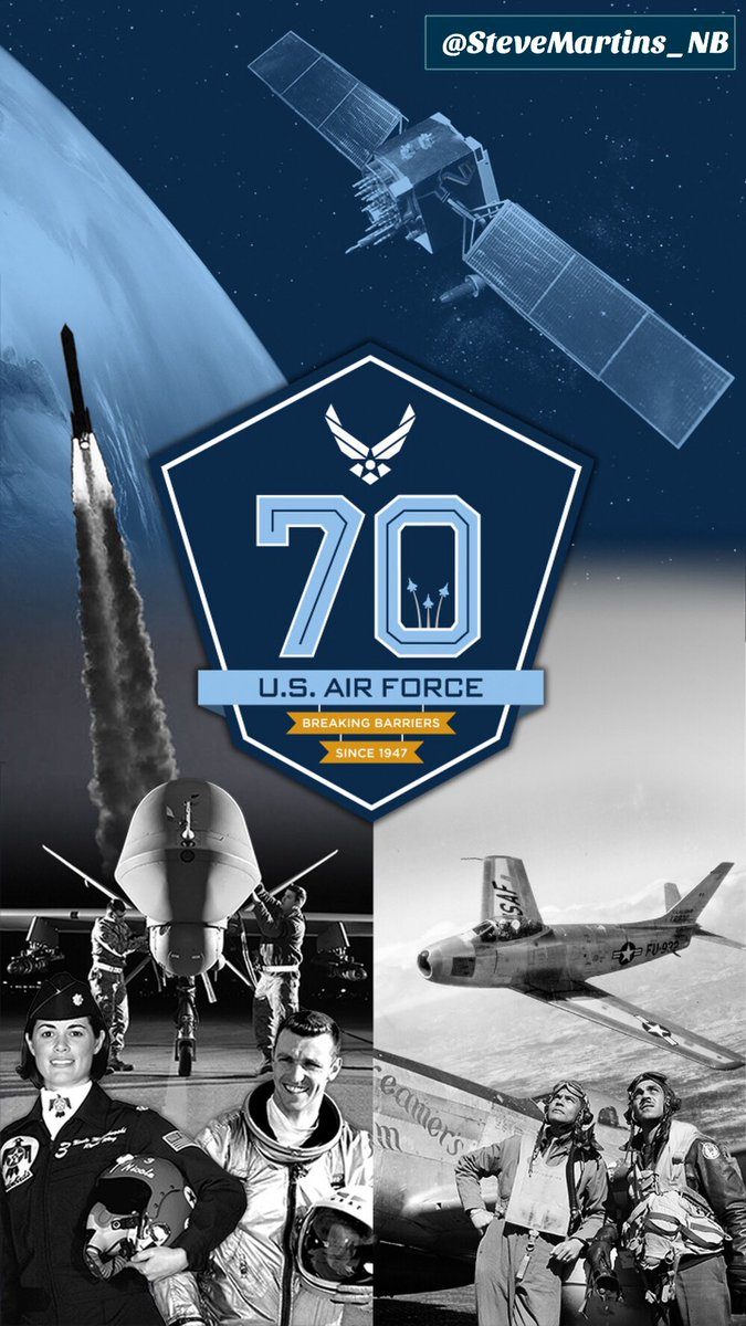 Saluting all our men and women who/have served on the greatest #Airforce in the world on this special 70th Birthday. Today and everyday. <br>http://pic.twitter.com/F5RixWtwtm