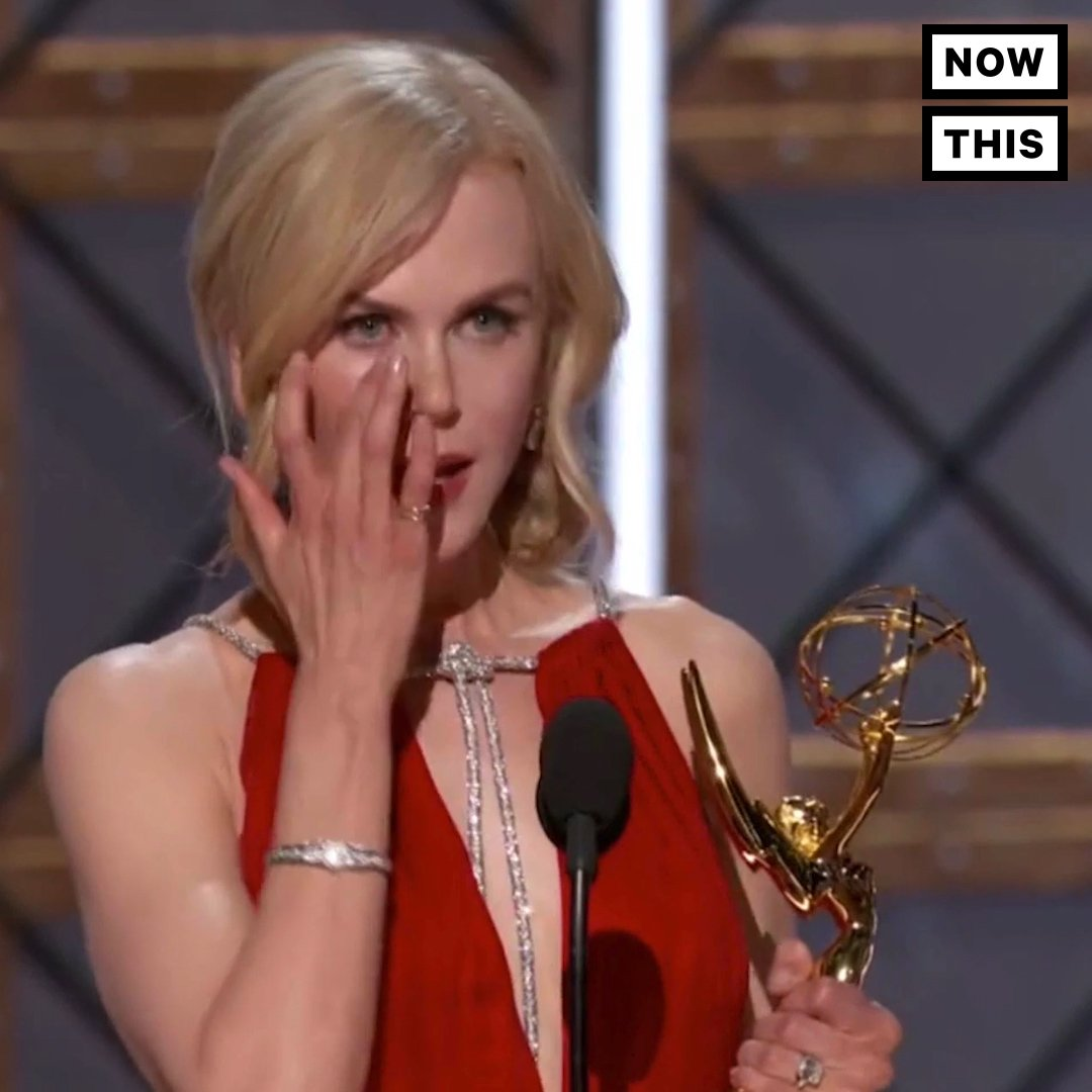 RT @nowthisnews: Nicole Kidman's speech on domestic violence at the Emmys was so damn important https://t.co/xxFb8bXm7d