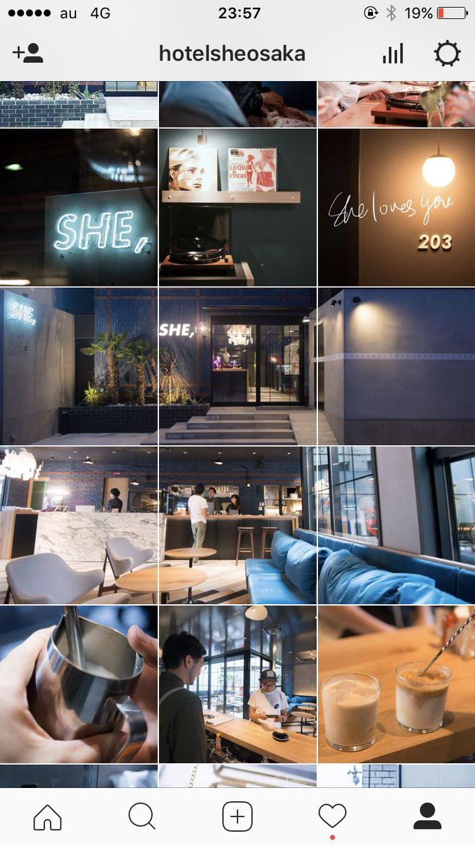 「hotel she osaka instagram」の画像検索結果