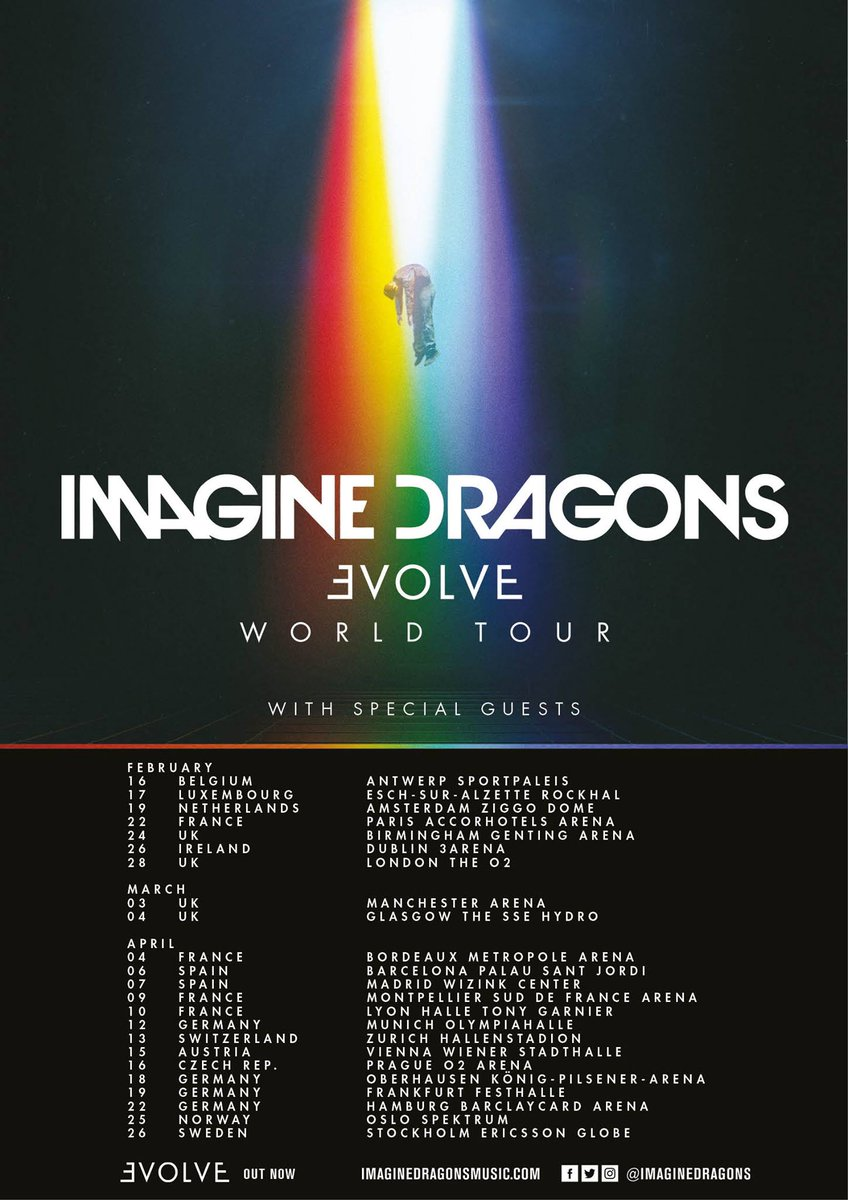 imagine dragons tour 2017 - photo #14