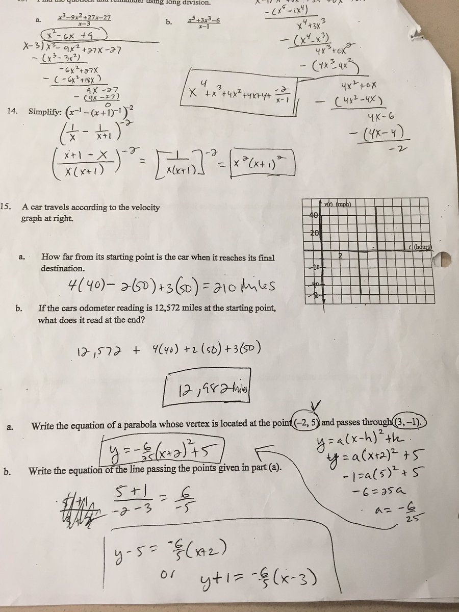Maas Calculus On Twitter Abmaas Chapter 1 Review 13 19