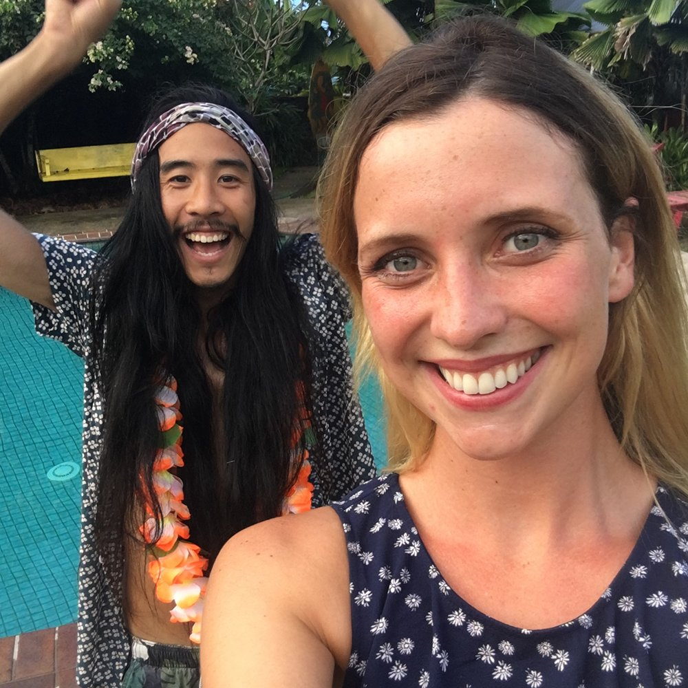 Jarrad's pretty excited to have some company 🙌 #SurvivorAU https://t.c...