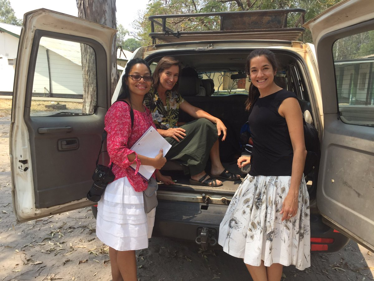 Volunteer Dr Calvet &amp; Dr Beidleman arriving to Mwandi #missionhospital #Zambia for the hospital tour #firstday #medicalmission @CMMBTweets<br>http://pic.twitter.com/5daRhMr41f